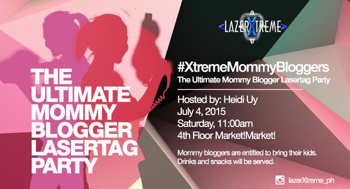 The Ultimate Mommy Blogger LaserTag Party