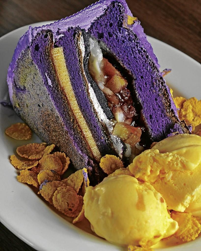halo halo cake