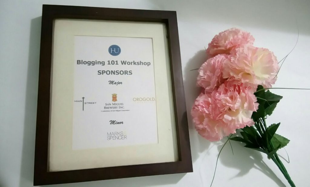 HU Studio presents Blogging 101 Workshop