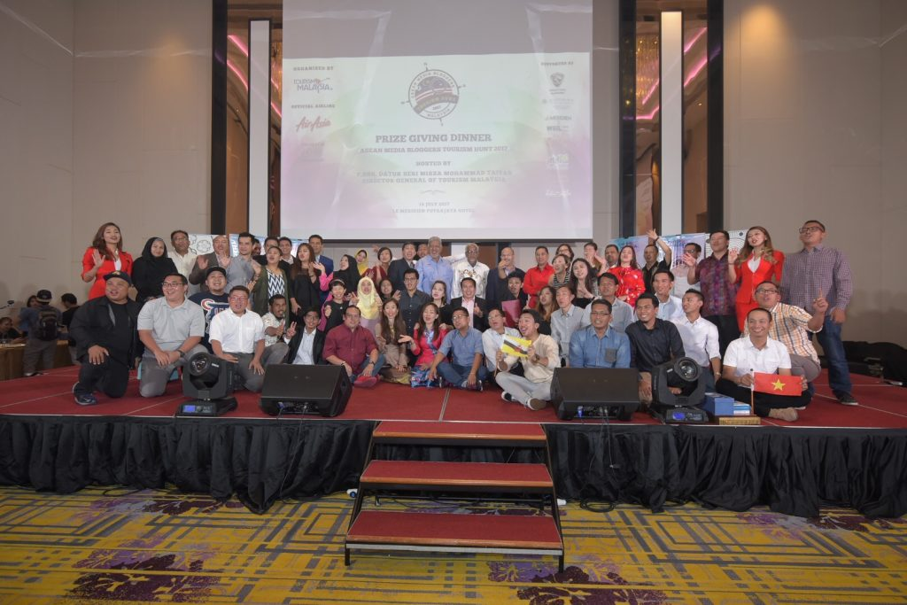 ASEAN Media Bloggers Tourism Hunt 2017 Prize Giving Dinner - Day 5 (Part 2)