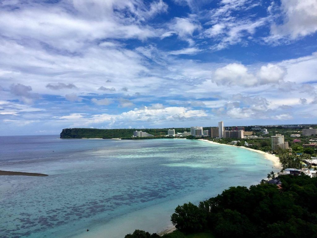 "Fill your heart ""With Love From GUAM"""