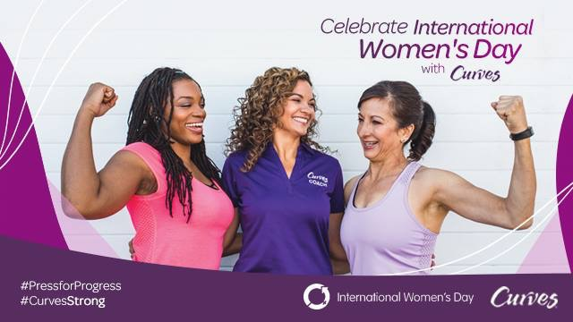 Curves Celebrates International Women's Day