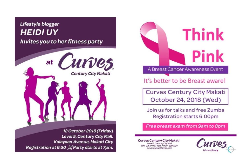 CURVES October Events